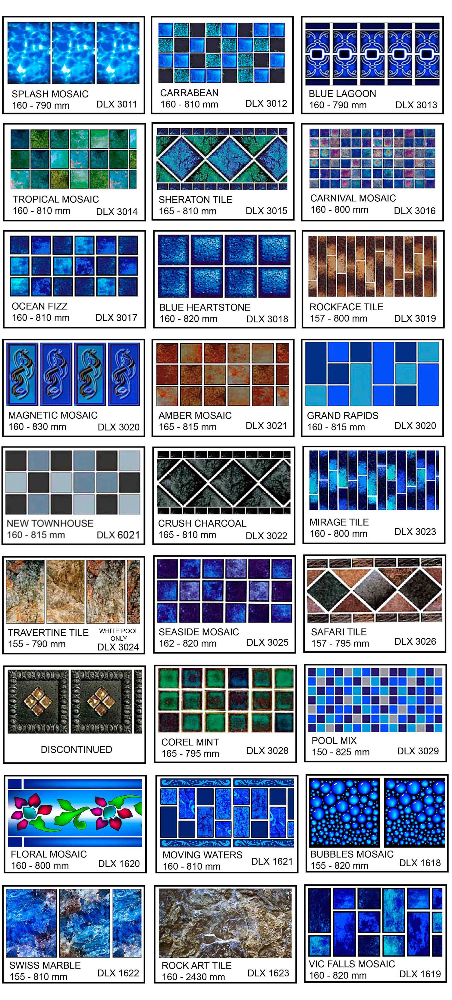 Luxor Pool Mosaic Collection